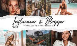 Influencer & Blogger Vol. 1 - 15 Premium LRPresets