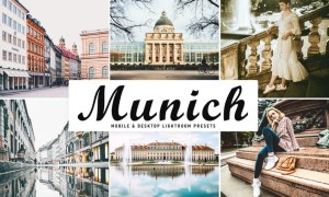 Munich Mobile & Desktop Lightroom Presets