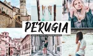 Perugia Mobile & Desktop Lightroom Presets