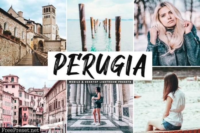 Perugia Mobile & Desktop Lightroom Presets