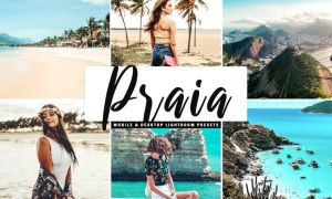Praia Mobile & Desktop Lightroom Presets