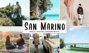 San Marino Mobile & Desktop Lightroom Presets