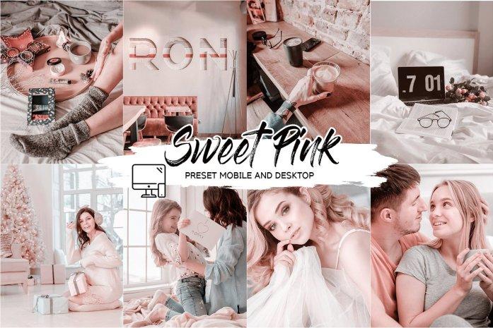 SWEET PINK LIGHTROOM PRESETS 4433553