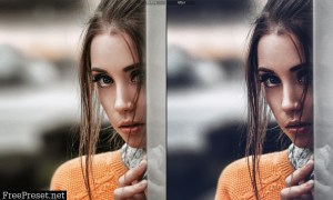 18 Cinematic Portrait Premium Lightroom Presets 25602391