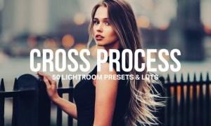 50 Cross Process Lightroom Presets and LUTs