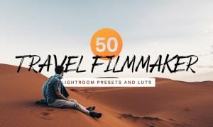 50 Travel Filmmaker Lightroom Presets and LUTs