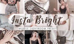 Insta Bright Mobile Lightroom Preset 4488136