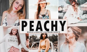 Peachy Mobile & Desktop Lightroom Presets