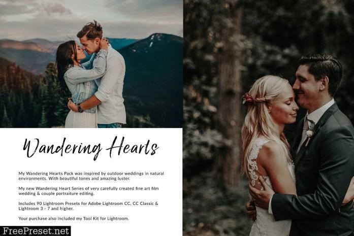 Wandering Hearts LR Preset Bundle 2380006