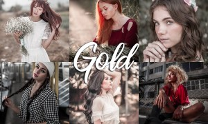 10 Lightroom CC Presets - Gold 4558129