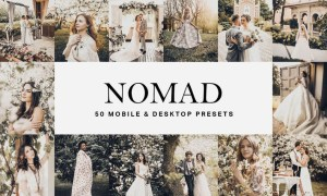 50 Nomad Lightroom Presets and LUTs