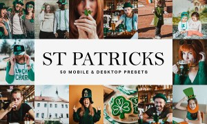 50 St Patricks Day Lightroom Presets 4683367