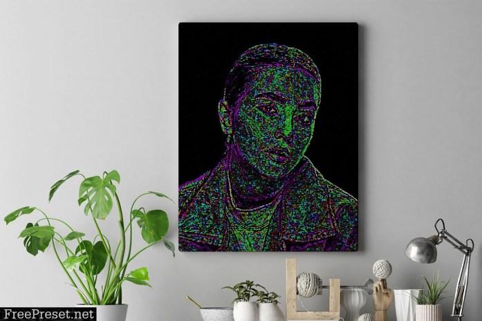 Colorful Pixel Art Action 4487565
