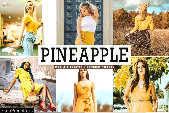 Pineapple Lightroom Presets Pack 3629223