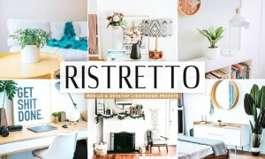 Ristretto Mobile & Desktop Lightroom Presets