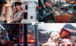 Sophia Photoshop Action 4404495