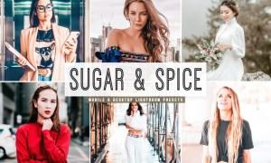 Sugar & Spice Mobile & Desktop Lightroom Presets