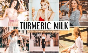 Turmeric Milk Lightroom Presets Pack 3623773