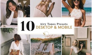 10 Lightroom Presets Desktop & Mobile Isis Airy Tones Collection 26133274