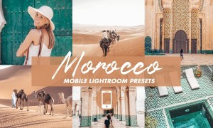 Mobile Lightroom Presets MOROCCO 4820839