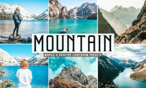 Mountain Mobile & Desktop Lightroom Presets