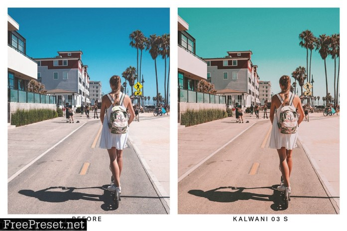20 Cali Pastel Lightroom Presets and LUTs