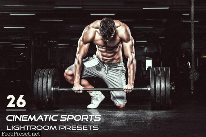 26 Cinematic Sports Lightroom Presets