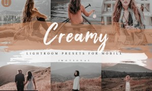5 Creamy Mobile Lightroom Presets 4135049