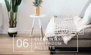 6 Clean Interior Lightroom Presets