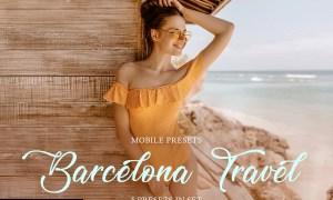 Barcelona Travel Mobile Presets 4036212