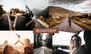 Cinematic Roadtrip Lightroom Presets 4222242