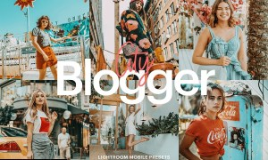 Lightroom Preset-Blogger City Theme 4971945