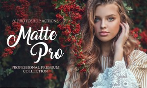 Matte Pro Photoshop Actions 3582428