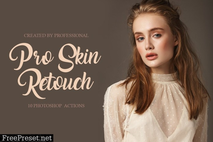 Pro Skin Retouch Photoshop Actions 4548028