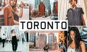 Toronto Mobile & Desktop Lightroom Presets