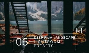 6 Deep Film Landscape Lightroom Presets + Mobile