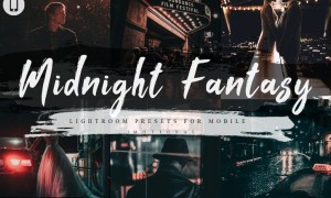 7 Midnight Fantasy Mobile Lightroom Presets