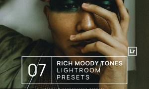 7 Rich Moody Tones Lightroom Presets + Mobile