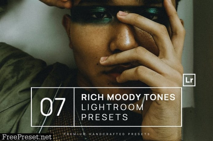 7 Rich Moody Tones Lightroom Presets + Mobile