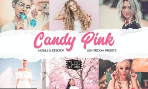 Candy Pink Lightroom Presets