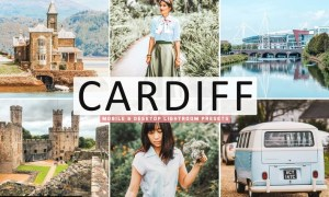Cardiff Mobile & Desktop Lightroom Presets