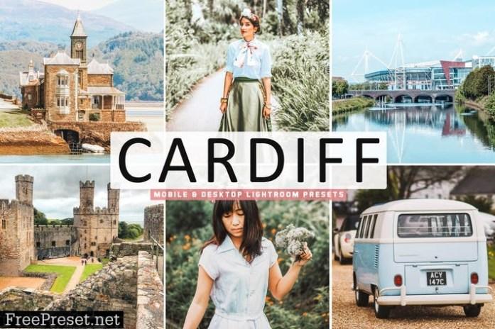 Cardiff Mobile & Desktop Lightroom Presets