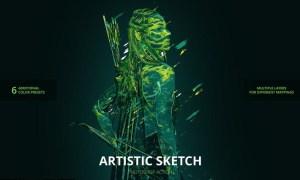 Colorful Sketch R55WF2F