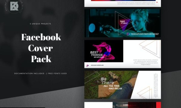 Facebook Cover Pack LCHTJ8N
