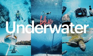 Lightroom Preset-Underwater Blue 4976194