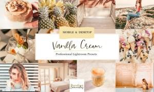 Vanilla Cream Lightroom Presets 4932255