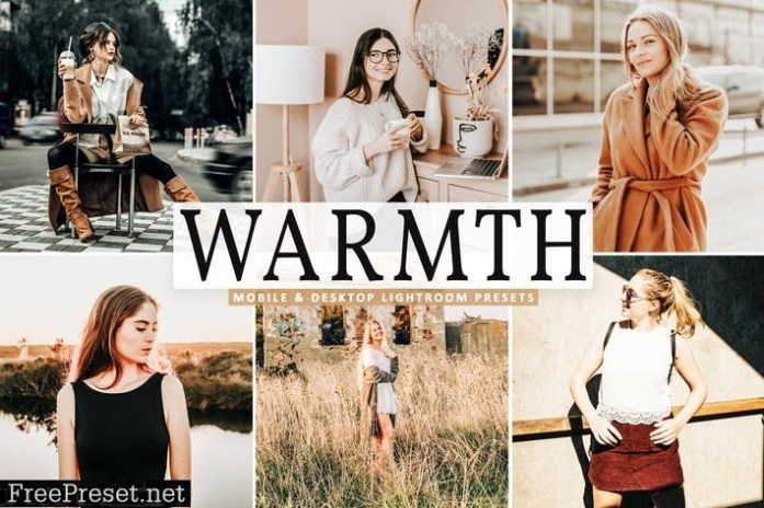 Warmth Mobile & Desktop Lightroom Presets