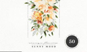 Watercolor Sunny Mood