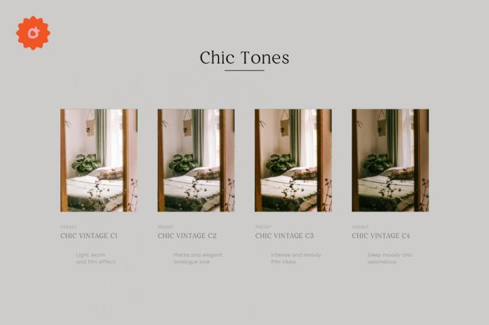 4 Chic Lightroom Presets 5186923