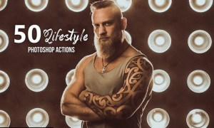 50 Lifestyle Photoshop Actions MNBKMEB